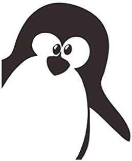 YWLINK Pegatinas Linda De Pared De PingüIno ExtraíBle Bricolaje ...