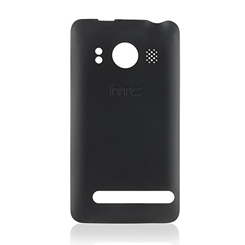 HTC OEM BLACK EVO 4G BATTERY DOOR COVER (Htc Door Battery)