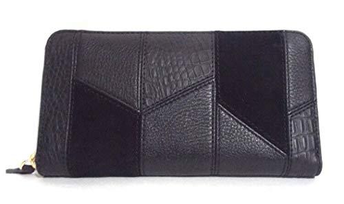 (Vera Bradley Leather Patchwork RDIF Georgia Wallet)