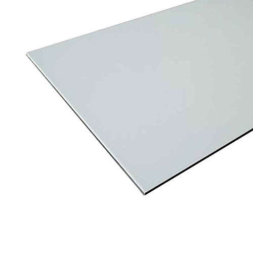 Aluminum Composite Sign Panel Sheet 1 8  X 12  X 24    White
