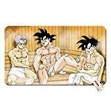 Hentai Gohan Gay Muscle Cars Goku Yaoi Trunks Massage Sauna Anime Dragon Ball Z Dragon Ball Mouse Pad Computer Mousepad Dimensions  23 6 X 13 8 X 0 2 60X35x0 2Cm