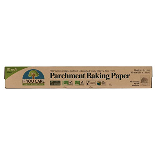 IF YOU CARE FSC Certified Parchment Baking Paper, 70 sq ft ()