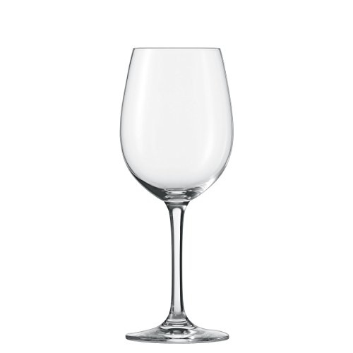 Schott Zwiesel Tritan Crystal Glass Classico Stemware Collection Wine/Water Goblet, White or Red Wine Glass, 18.4-Ounce, Set of 6 ()