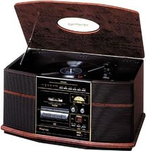 DENON 音聴箱 卓上ステレオ レコード/CD/カセット/ラジオ搭載 木目 GP-S50 B0002Z7MJA