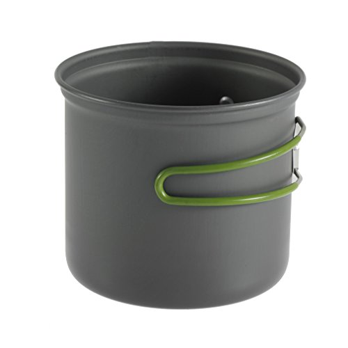 Qulable Cookware Outdoor Pan Camping Hiking Backpacking Cooking Picnic Bowl Pot by Qulable (Image #3)