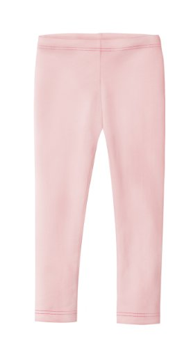 City Threads Girls' Leggings 100% Cotton for School Uniform Sports Coverage or Play Perfect for Sensitive Skin or SPD Sensory Friendly Clothing, Pink, 18/24 Mo. ()
