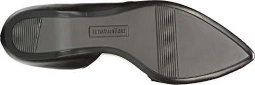 Naturalizer Women's Samantha D'Orsay Shoe,Black Leather,US 10 W by Naturalizer (Image #6)