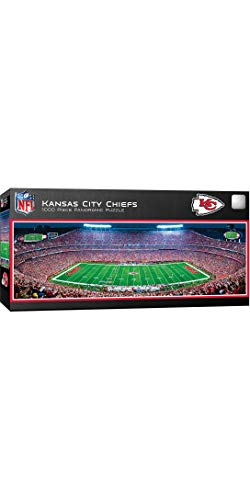 MasterPieces NFL Kansas City Chiefs Stadium Panoramic Jigsaw...