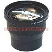 HD 3X PRO TELEPHOTO LENS FOR NEW MINOLTA DIMAGE Z3 Z5