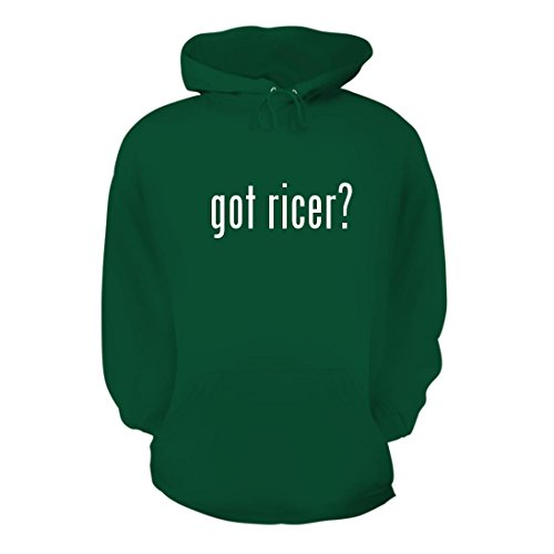 got ricer? - A Nice Men's Hoodie Hooded Sweatshirt, Green, Large Cuisipro Stainless Steel Potato Ricer