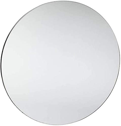 Marketing Holders Acrylic Mirror Round Circles 25 Inch Flat for DIY Crafts Wall Safer Light Weight Plastic Center Piece Wedding Events