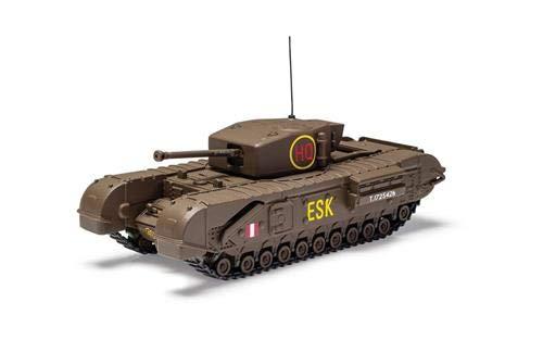 Corgi Diecast Churchill MKIII Tank 6th Scots Guards Brigade 1943 1:50 WWII Military Display Model CC60112 from Corgi