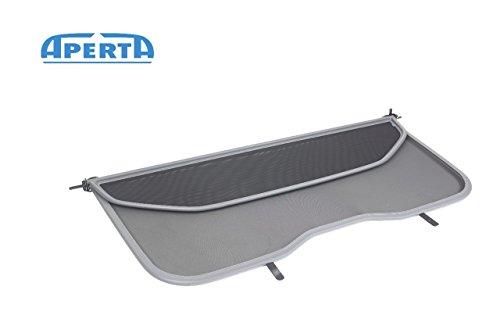 Aperta Grey winddeflector for Volvo C70 542 | Tailor Made Windblocker | Windstopper Volvo Convertible