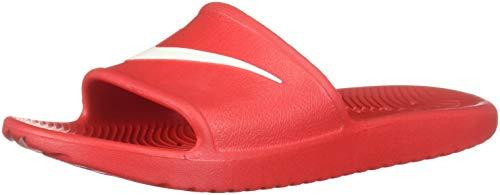 NIKE Men's Kawa Shower Slide Sandals University Red/White 9 (Red Shower)