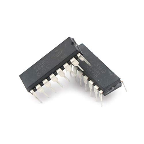 Gimax 10pcs PT2399 DIP-16 Audio Digital IC Echo Audio Processor Guitar IC connector NEW GOOD - Pt2399 Pedal Effect