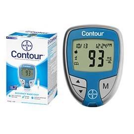 Ascensia Contour Glucose Meter, 1 ea
