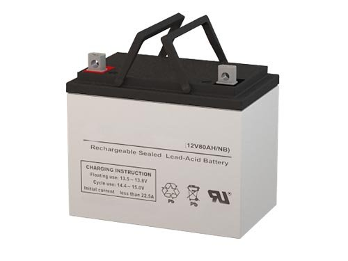 Deep Cycle Battery AGM Solar Energy Storage 12V 75AH