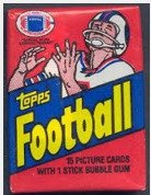 1982 Topps Football Wax Pack- NFL Rookie Gems?