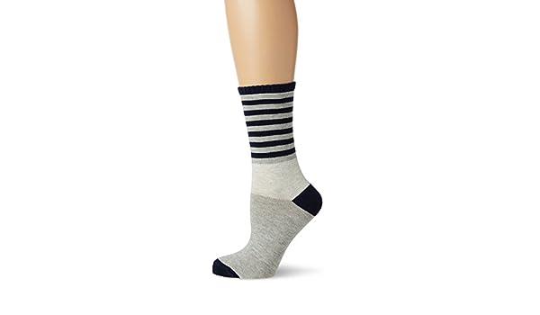 WomenSecret, Alone 1 - Calcetines para mujer, multicolor (gris/azul marino), talla única: Amazon.es: Ropa y accesorios