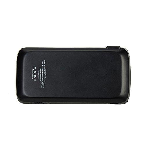 Mini Bluetooth Keyboard Portable, eJiasu Handheld Wireless Keyboard Travel Keyboard with Rechargable 4000mAh Power Bank for Apple iPhone 8/7 plus/6 plus/6/5s/5 Android Smartphone (Black) by eJiasu (Image #4)