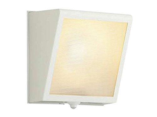 コイズミ照明 人感センサ付ポーチ灯勝手口灯 マルチタイプ オフホワイト AU42355L B00Z51ABBM