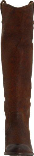 Frye Kvinna Jackie Knapp Boot Cognac Tryckte Nubuck-76.575