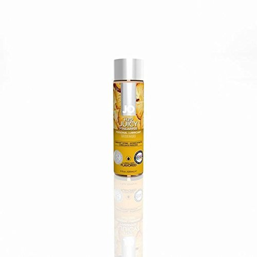 (System JO® H2O Water Based Juicy Pineapple Flavored Lubricant 4 oz.)