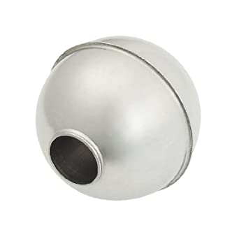 Uxcell 30 mm x 29 mm x 9.5 mm Stainless Steel Floating Ball for Water Level Sensor: Amazon.com: Industrial & Scientific