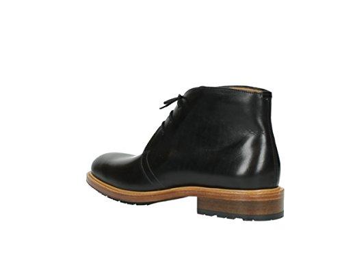 vestir mujer 30000 Leather Black Wolky Sandalias de para FxwAF7T8