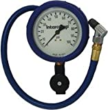 INT-360088 Intercomp AirGauge,100x1 psi-Fill,Bleed&Read-4''GlowDial