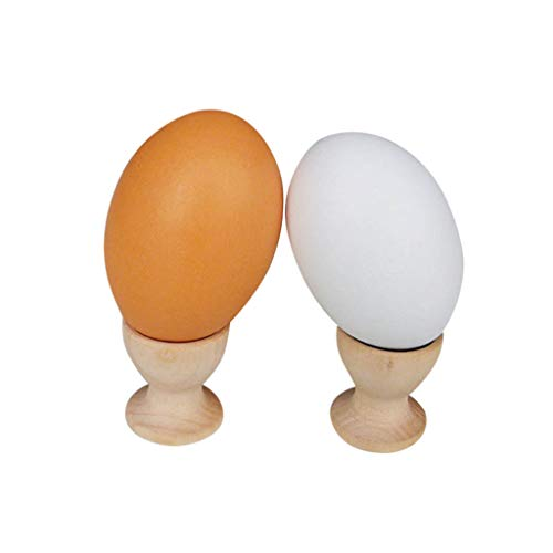 Euone  Valentine ClearanceSales!!! , 5pc Egg Cup Wooden Storage Holders Portable for Kitchen Hotel Restaurant Party from Euone_Home