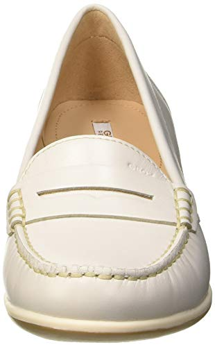 Mocassins Arethea White C1002 Ecru B off loafers D Geox Femme Pw7nqq