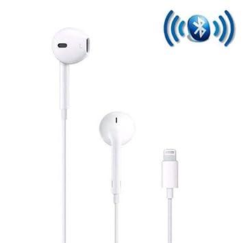 Auriculares Bluetooth con micrófono para smartPhone 7 8 Plus y X ...