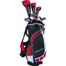 Precise Men's ML55 Complete Set (Tall Right Hand, Black/Red)
