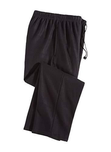Carol Wright Gifts Men's Fleece Lounge Pants, Color Black, Size Medium, Black, Size Medium Microfleece Lounge Pants