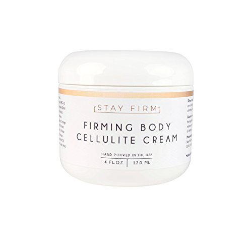 Anti-Cellulite Cream - Skin Tightening Cream - Body Firming Lotion for Cellulite - 4 oz - Made in USA - Stay Company - Firming Cream Skin