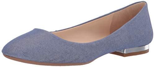 Jessica Simpson Women's GINLY Shoe, Cool Blue, 7.5 M US
