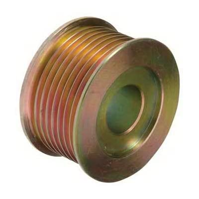 "New Pulley, Compatible with 8-Grooves, 0.87"" / 22.2mm ID, 2.57"" / 65.25mm OD, Delco / 10499362/24-1755/208-01001: Automotive"