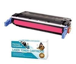 Ink Now Premium Compatible Magenta Toner for HP Color LaserJet 4700, 4700DN, 4700DTN, 4700N printers, OEM Part Number Q5953A Page Yield 10000 - Hp Q5953a Magenta Toner