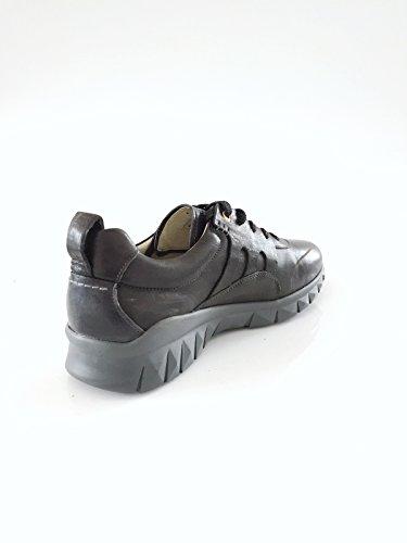 schwarz d'Oro 41 Sneaker Herrenschuh Pantofola Echtleder Größe 4IqF7qpn