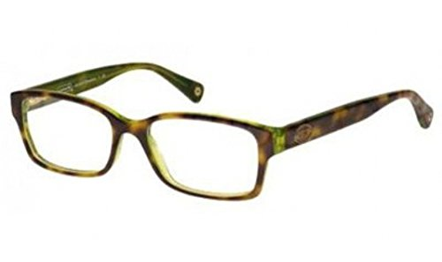 COACH Eyeglasses HC 6040 5117 Tortoise Green 52MM