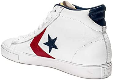 Converse PRO Leather Vulc - Mid - White/Gym Red 38