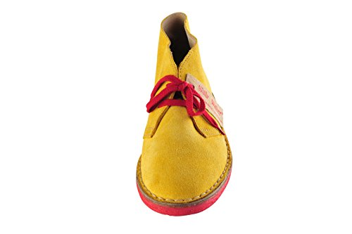 Da 37 Colore Donna Walker Scarpe Giallo Di In Wally Pelle xwfqBRI