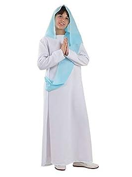 DISBACANAL Disfraz Virgen María Infantil - Único, 6 años: Amazon ...