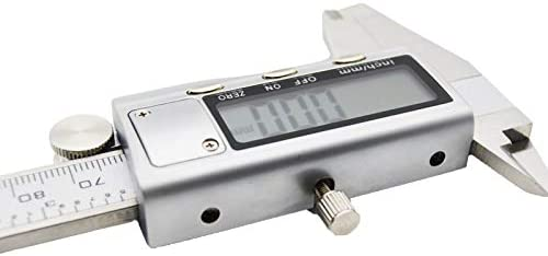 Stainless Steel Metal Digital Vernier Caliper 150mm Precise Electronic Ruler Measuring Tool Instruments Micrometer Easy to Read Color : Only a Caliper
