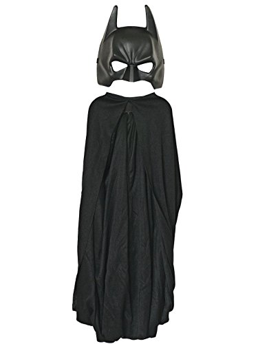 Batman: The Dark Knight Rises: Batman Cape and Mask Set, Child Size (Black) -