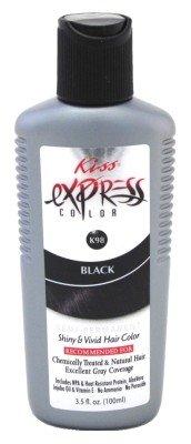 Kiss Express Color #K98 Semi-Permanent Black 3.5 Ounce (103ml)