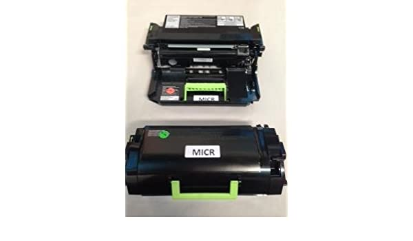MS510 TCM USA Lexmark MS410 MS510 MS610 Alternative Toner Cartridge MICR and Drum MICR Unit 50F1X00 Toner and 50F0Z00 Drum Made in USA MS610 Works with Lexmark MS410