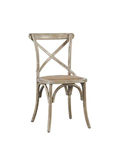 Sloane Elliot SE0017 Parisian Bistro Chair, Weathered Finish, Set of 2