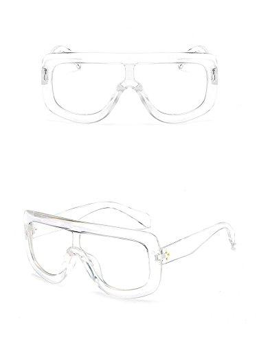 Grandes sol de Gafas C de Gafas de Sol Caja de de la Mujeres J de la Gafas Sol Personalidad la RFVBNM Moda de la Siamés Las Moda de 6qEIEw